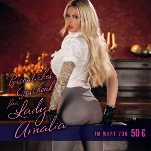 50 € Geschenkgutschein für Lady Amalia