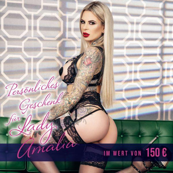 150 € Geschenkgutschein für Lady Amalia